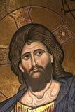 Monreale mosaik av Kristus Pantocrator Royaltyfria Foton