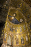 Monreale Pantocrator Palermo Sicilië Royalty-vrije Stock Fotografie
