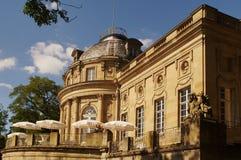 Monrepos slott i den Ludwigsburg Tyskland Royaltyfria Bilder