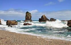 Monro海滩 库存图片