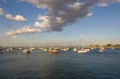 Monroe Harbor Royalty Free Stock Photo