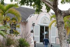 Monroe okręg administracyjny May wzgórza Russell Biblioteczny frontowy wejście Fotografia Royalty Free