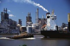 Monrovia cargo ship Stock Image