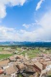 Monroyo village at Teruel, Spain Royalty Free Stock Photography