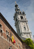 Mons belfry stock photography