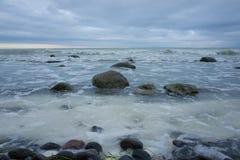 Mons Klint Дания Стоковые Фото
