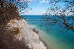 Mons Klint in Denmark Royalty Free Stock Photography