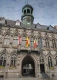 Mons-Rathaus, Belgien Lizenzfreies Stockfoto