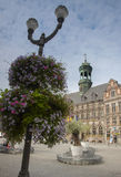 Mons town hall Stock Photo
