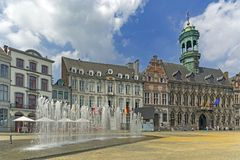 Mons, Wallonie, Bélgica Fotos de Stock Royalty Free