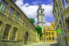 Mons, Wallonie, België stock foto's