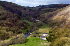 Monsal Dale Valley Royalty Free Stock Photos