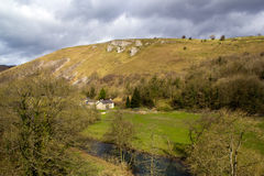 Monsal Dale Valley Stock Images