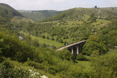 Monsal Dale Royalty Free Stock Photo