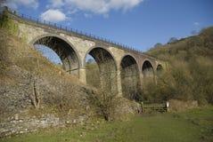 monsal dolina wiadukt obraz royalty free