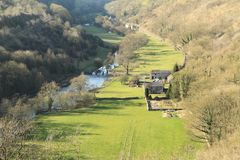 Monsal Head Stock Photo