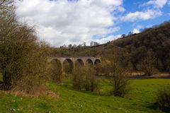 Monsal  Head Viaduct Royalty Free Stock Photography