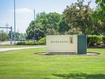 Monsanto företags högkvartertecken Royaltyfria Foton