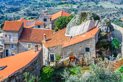 Monsanto, the most Portuguese village. Royalty Free Stock Images