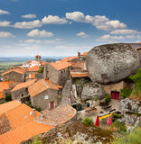 Monsanto village with the bell tower /  Portugal / Europe Royalty Free Stock Photography