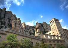 Monserrat Abbey Royalty Free Stock Photo