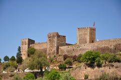 Monsaraz城堡 免版税库存照片