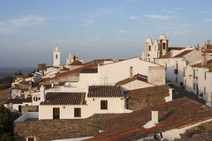 Monsaraz,阿连特茹,葡萄牙 免版税库存图片