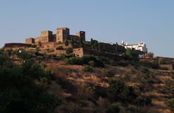 Monsaraz. Portugal Alentejo Region Monsaraz historic town built on a hilltop within castle walls Stock Image