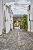 Monsaraz, Alentejo, Portugal. Winner in 2017, from the category `Aldeias Monumento` of the contest 7 Wonders of Portugal - Aldeias, Monsaraz is a Portuguese Stock Images