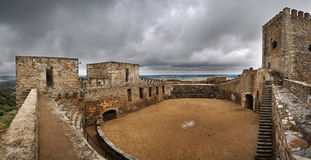 Monsaraz Castle interior Stock Image