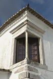 Monsaraz corner balconny Royalty Free Stock Image