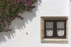 Monsaraz fönster Arkivbilder