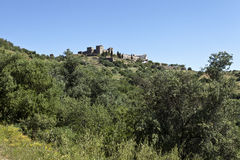 Monsaraz, the Hilltop Village in Alentejo, Portugal Royalty Free Stock Photo