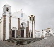 Monsaraz kyrka Arkivfoto