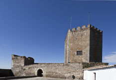 Monsaraz, the Medieval Fortress Stock Images