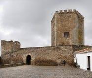 Monsaraz slott Arkivbild