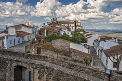 Monsaraz - a small border Portuguese fortress Royalty Free Stock Photo