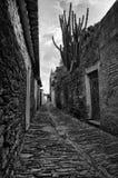 Monsaraz streets surface Royalty Free Stock Photography