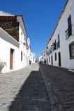 Monsaraz typisk gata Arkivfoto