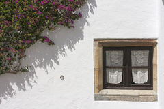 Monsaraz window. Ancient small window in Monsaraz, Portugal Stock Images
