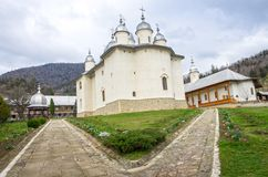 Monastery in Moldavia Royalty Free Stock Images