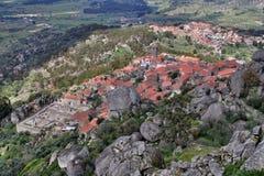 Monsato, Portugal Portugees historisch dorp Royalty-vrije Stock Afbeeldingen