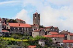 Monsato, Portugal Portugees historisch dorp Stock Foto
