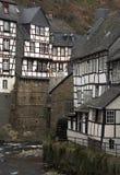Monschau - ciudad histórica en Alemania Occidental Fotografía de archivo libre de regalías