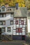 Monschau in Eifel als Oude Stad Royalty-vrije Stock Fotografie