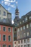 Monschau in Eifel als Oude Stad Royalty-vrije Stock Afbeeldingen