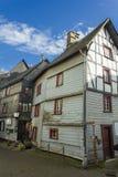 Monschau in Eifel als Oude Stad Royalty-vrije Stock Foto