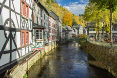 Monschau in Eifel as Old Town Royalty Free Stock Photo