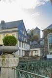 Monschau in Eifel as Old Town Royalty Free Stock Image