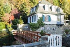 Monschau in Eifel as Old Town Royalty Free Stock Photos